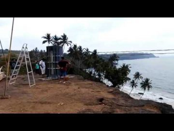 'Thales' Wind Turbine at Cabo De Rama Fort